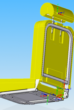 3D Model of Seat Assembly