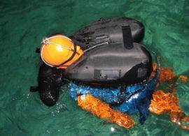 Performance testing with buoyant manikin