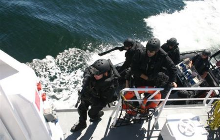 VPD Maritime Ops training exercise