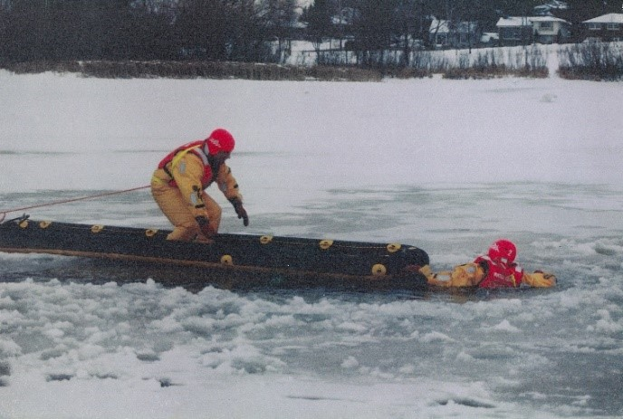 LifeRamp Ice-Water Rescue System