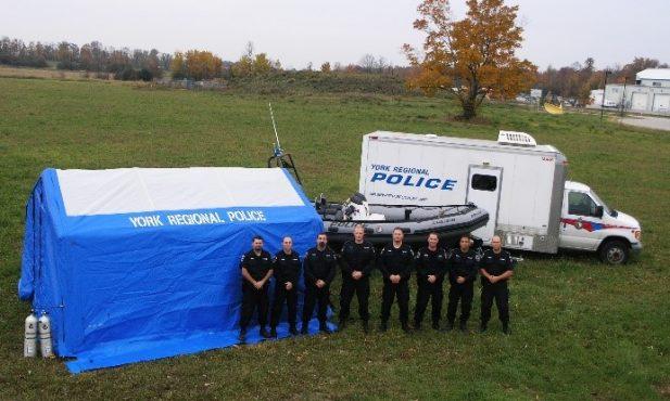 York Regional Police Underwater Recovery Team