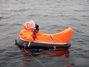 SAR Single Person Life Raft
