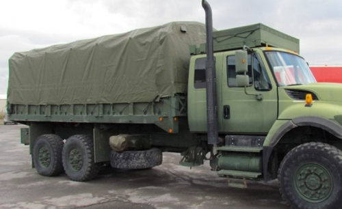 MSVS MILCOTS Tarpaulin produced for Navistar Defence